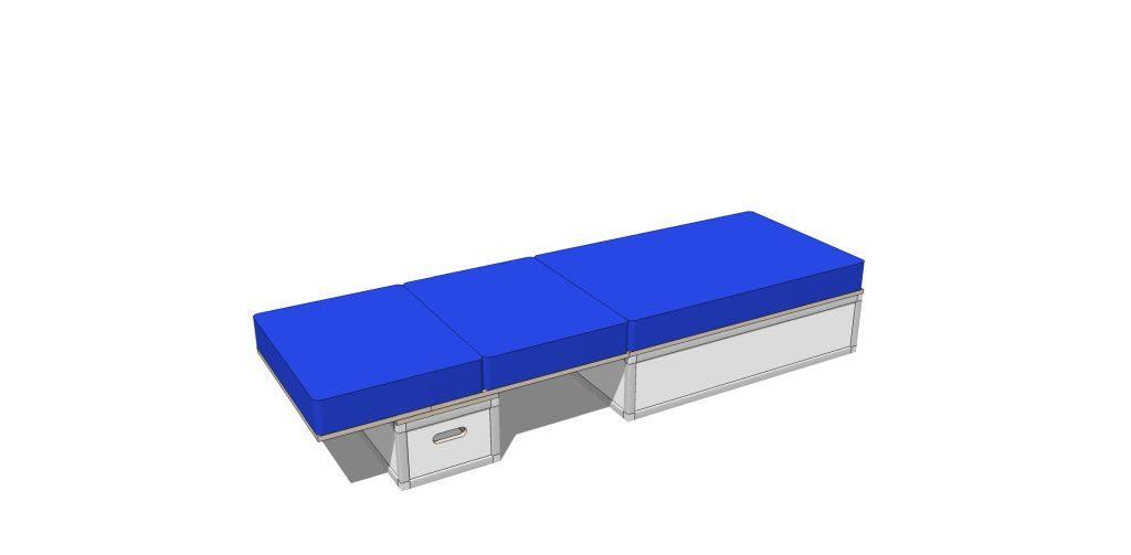 Elektro- und Bettmodul