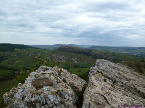 In Sichtweite ein zweiter, markanter Felsen