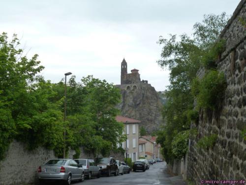 Die Kapelle St-Michel-d'Aiguilhe