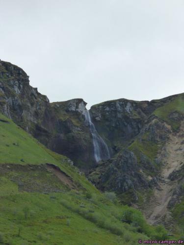 Wasserfall am Puy de Sancy
