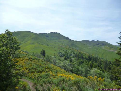 Blick zum Puy du Rocher