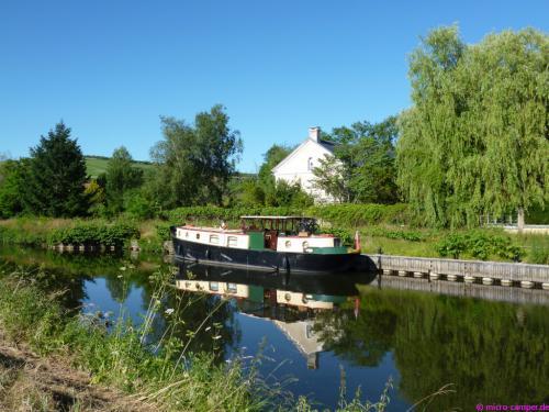 Idylle am Canal du Nivernais