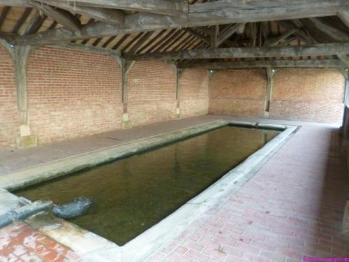 Der alte Waschplatz von Soulaines-Dhuys