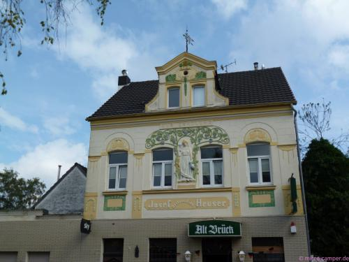 Jugendstilgebäude in Brück