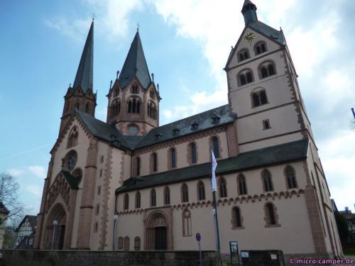 Die Marienkirche, ein schöner romanischer Bau