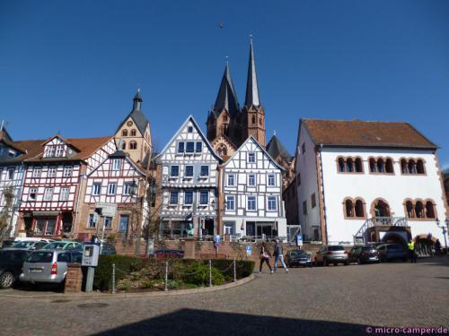 Am Unteren Markt von Gelnhausen