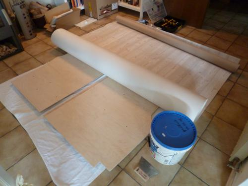 Verklebung des PVCs