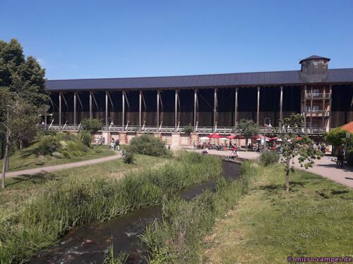 Gradierwerk und Kurpark in Bad Dürkheim