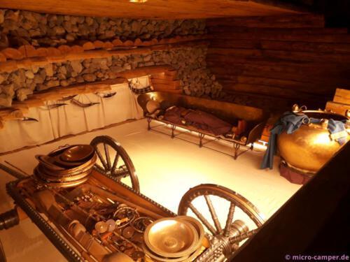 Eine Grabkammer voller Schätze