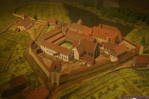 Modell des Klosters Bebenhausen