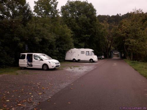 Stellplatz in Bad Niedernau