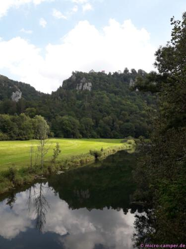 Überquerung der jungen Donau