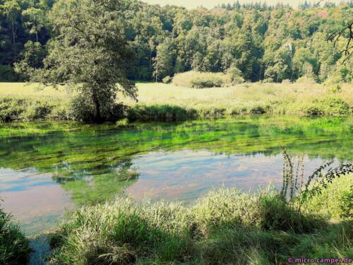 Der Fluss darf hier noch natürlich fließen