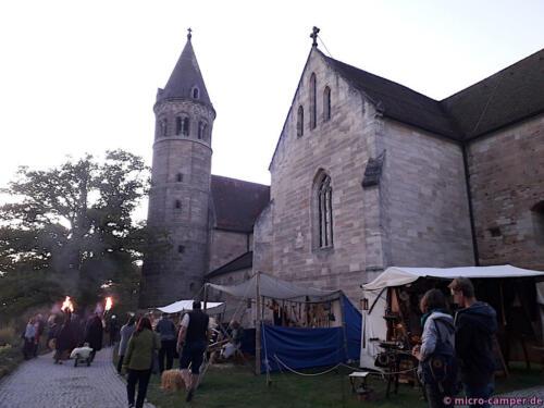 Das Gelände ist perfekt für einen Mittelaltermarkt!