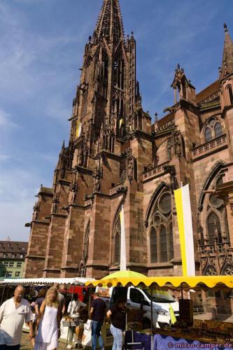 Der Markt um das Münster, wie eh und je
