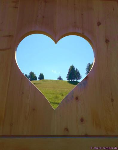 Ja, ich habe mein Herz an Südtirol verloren :-)
