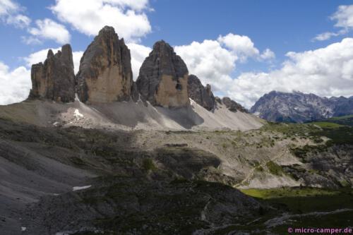 Viele Fotos habe ich schon von den Drei Zinnen gesehen, aber in natura sind sie noch viel beeindruckender!