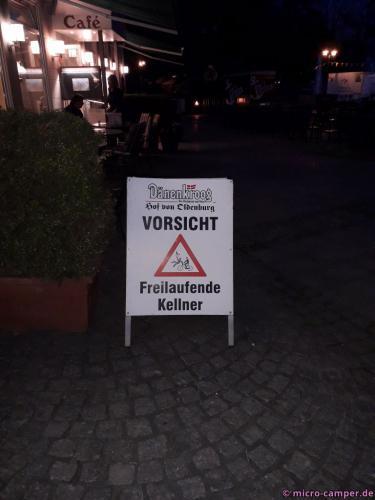In der City von Zwischenahn heißt es aufpassen! :-D