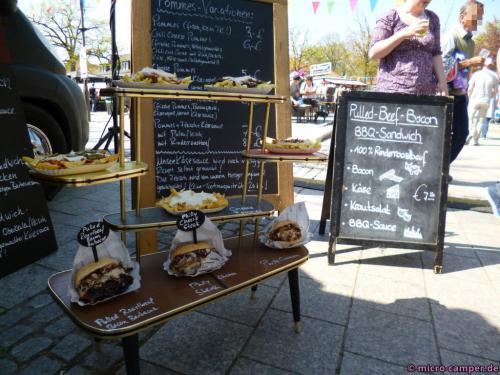 Street Food Festival - auch dafür können Omas alte Regale herhalten